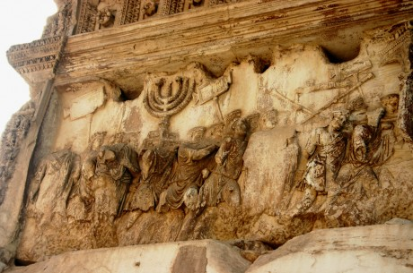 3961, Arco di Tito, Detail_from_Arch_of_Titus